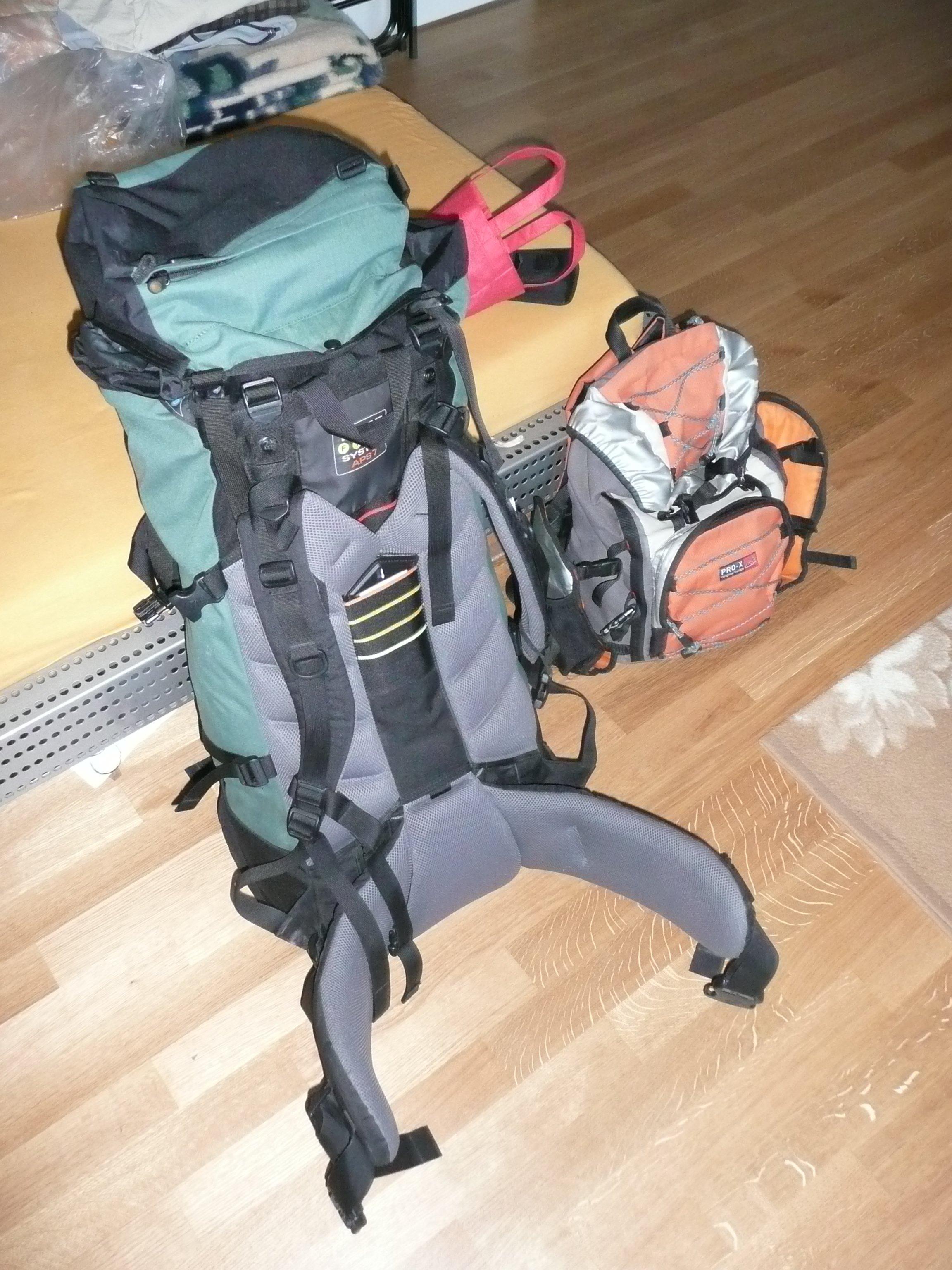 Rucksack + Daypack
